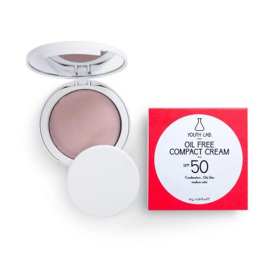YOUTH LAB Oil Free Compact Cream spf50+ 10gr Medium Color Combinated/Oily Skin