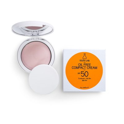 YOUTH LAB Oil Free Compact Cream spf50+ 10gr Light Color Combinated/Oily Skin